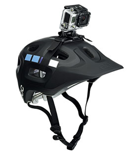 how to stabilise go pro footage from head strap