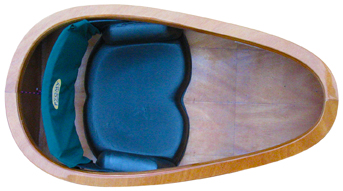spirit line molded kayak seat with hip braces