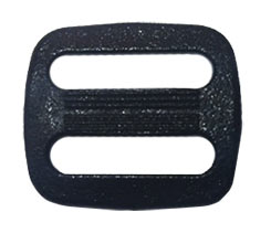 plastic buckle / tri-slide