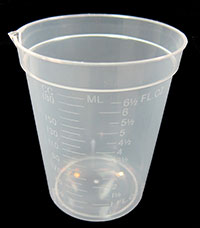 epoxy measuring cup