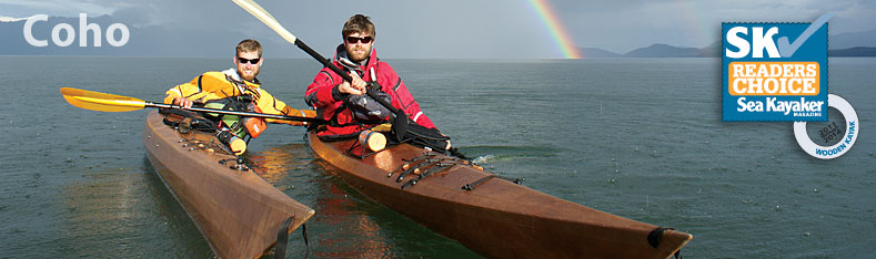 Voted Best Wooden kayak by Sea kayaker Magazine's Readers Choice and used in Paddle to Seattle!