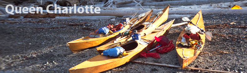 Queen Charlotte std kayak plans and kit