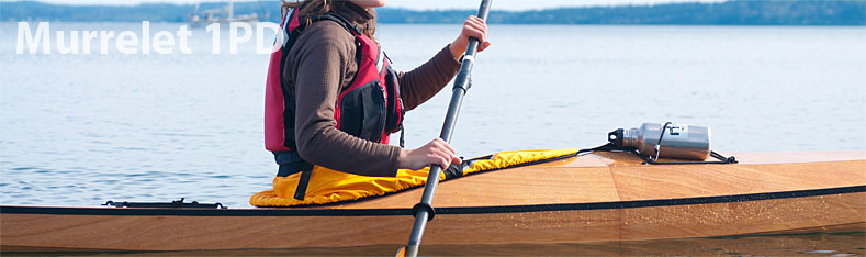 murrelet 1pd wood kayak kit