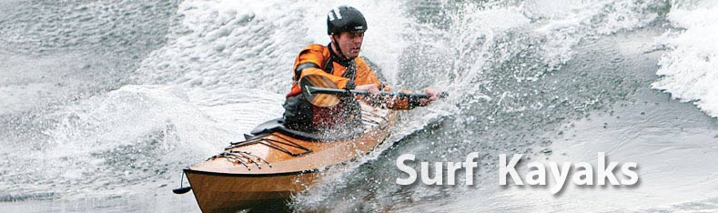 surf kayaking