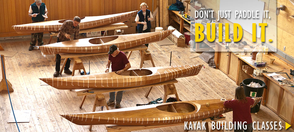 Pygmy Boats: Voted Best Wooden Kayak Kit
