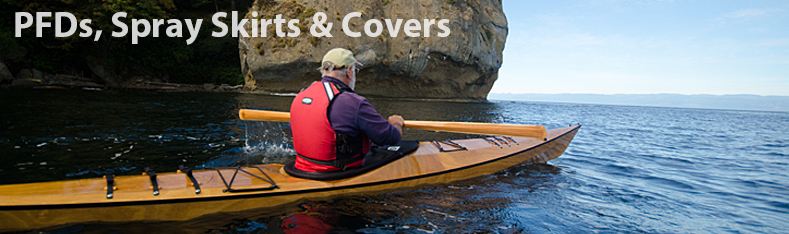 PFDs Spray Skirts Covers & other Boat Accessories