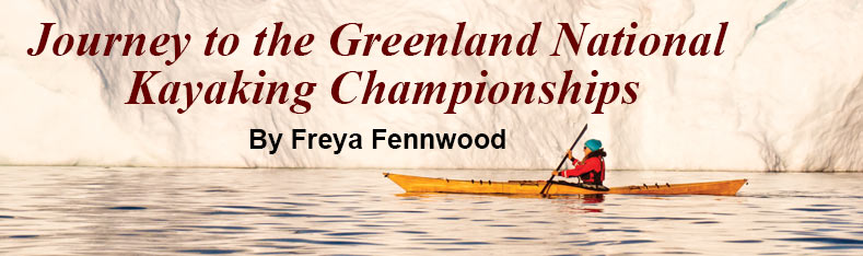 Greenland national kayaking championships