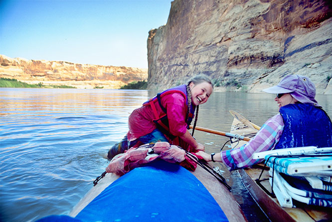 paddling the green river: a family adventure