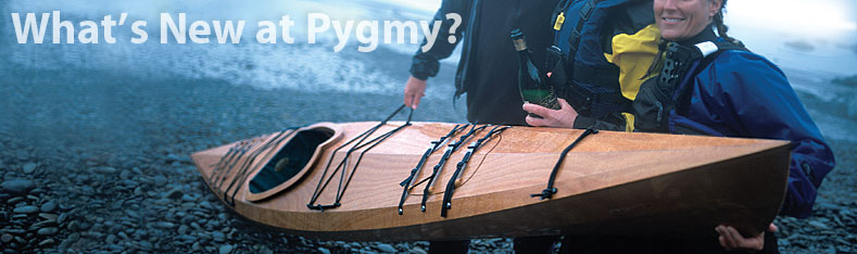 whats new at pygmy boats