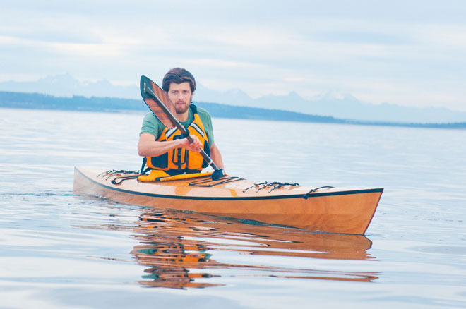osprey kayak kit and sawyer paddle