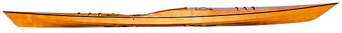 Pygmy Murrelet 2PD Wooden Kayak Kit