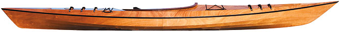 Pygmy Pinguino 145 wood Kayak Kit