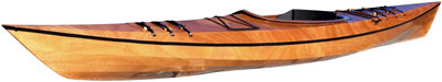 Pinguino 145 wooden recreational kayak kit