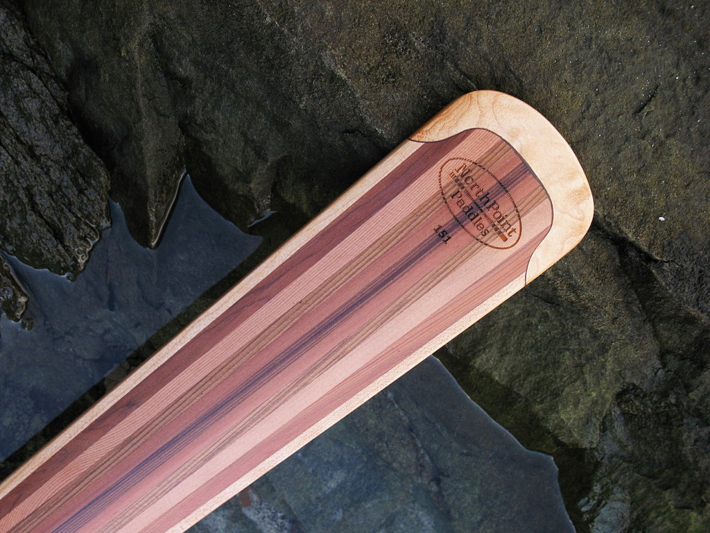 greenland paddle, hardwood edges, durable, laminated, wood paddle