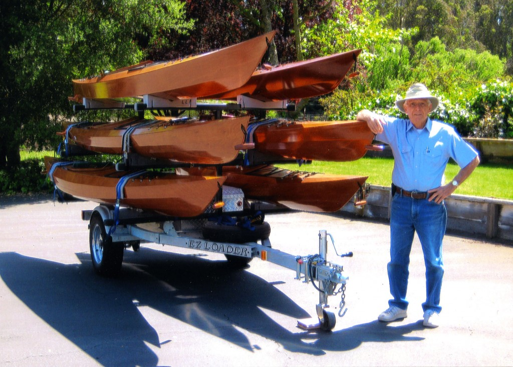 Al decided to build his very first kayak at age 80.