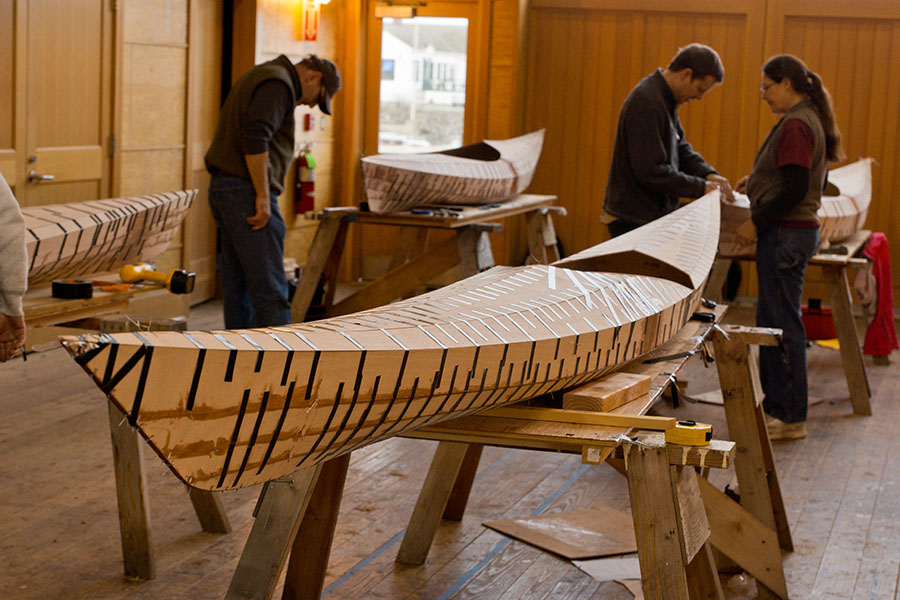 Stitch And Glue Kayak Building Class « www.pygmyboats.com/blog