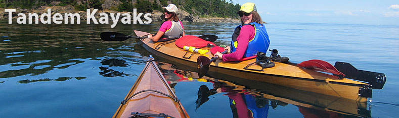Wooden Tandem And Triple Kayak Kits And Plans