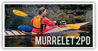 murrelet 2PD wooden greenland inspired kayak kit