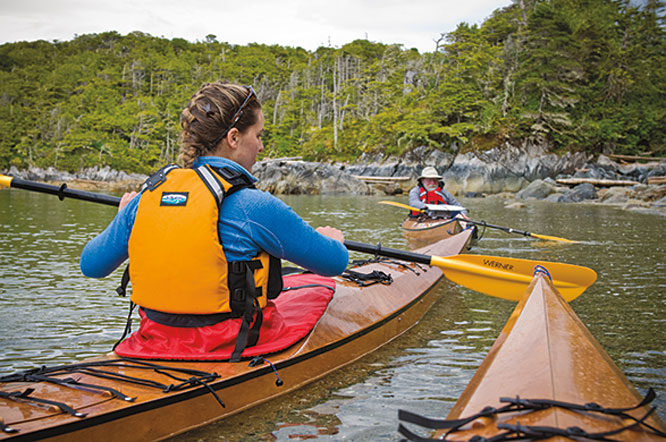 kayak expedition: british columbia's remote coast