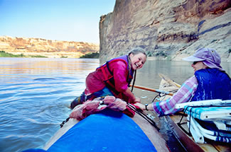 Paddling Utah Green River