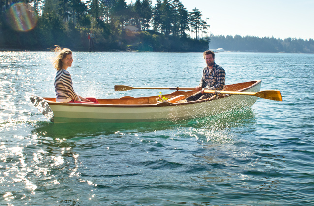 Wooden Row Boat Kit: The Wineglass Wherry