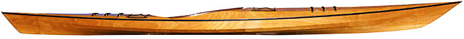 Murrelet 4PD Wood Kayak Kit- touring kayak thats easy to roll