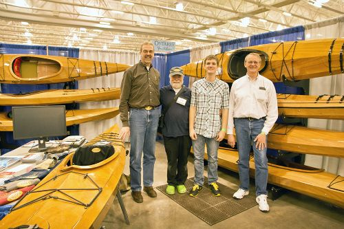 "Jim Fleming (the ""tallest man"" John has ever seen) is a preacher in Fairmont, MN who organized a father-son boat building project."
